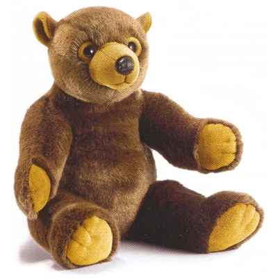 Peluche Ourson Noiset - Animaux 1821