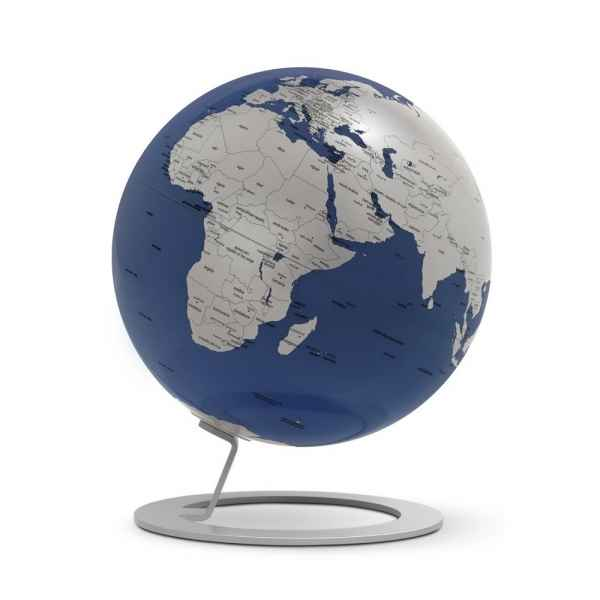 Globe lumineux iglobe light bleu diam 25 cm Atmosphere