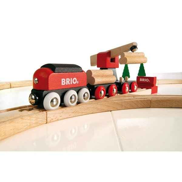 Circuit tradition transport de bois BRIO 33010