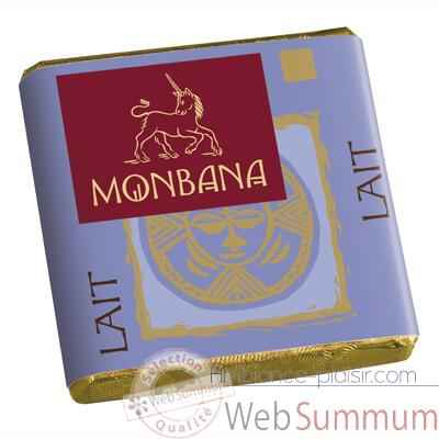Chocolat lait Collection Monbana, 30 napolitains -11140148