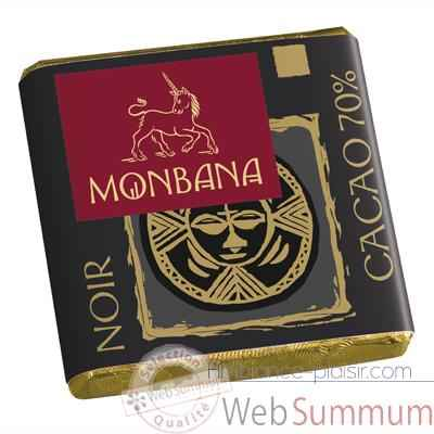 Chocolat noir Collection Monbana, 30 napolitains -11110894
