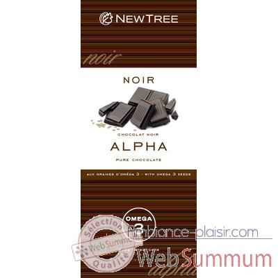 Newtree-Chocolat Alpha Noir  73 %, tablette 80g-341842