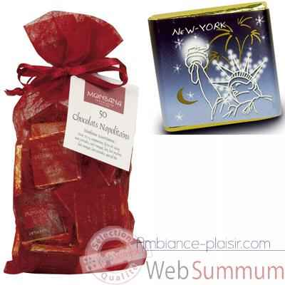 Chocolat Collection Villes LumieresMonbana, sachet chrysalide -11180077