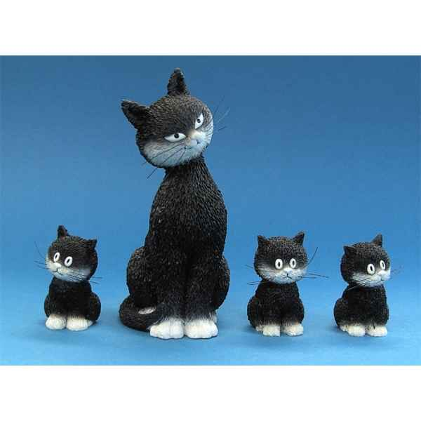 Figurine Chat l\\\'alignement Dubout -DUB22