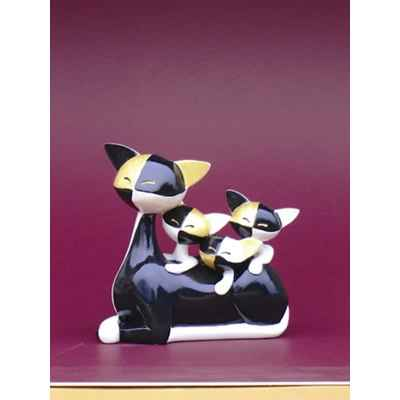 Figurine Le Chat Queenie + Quinta + Quiana - Questa W, - GW03