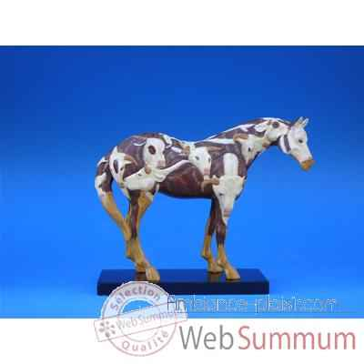 Figurine Cheval - Painted Ponies - Cowpony - 1584