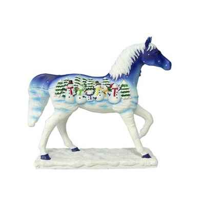 Figurine Painted Ponies cheval Let It Snow -PO12285