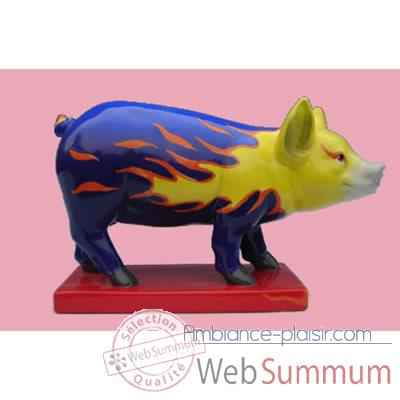 Figurine Cochon - Party Piggies - Hot Rot - PAP13