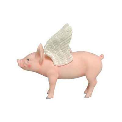 Figurine Cochon - This Little Piggy - Piggies Fly - TLP16838
