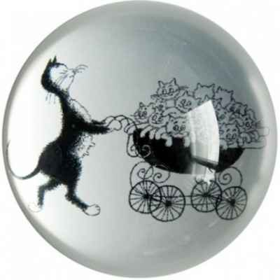 Figurine Dubout - La pointeuse - DUB02