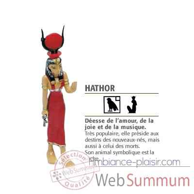 Figurine Isis hathor -68164