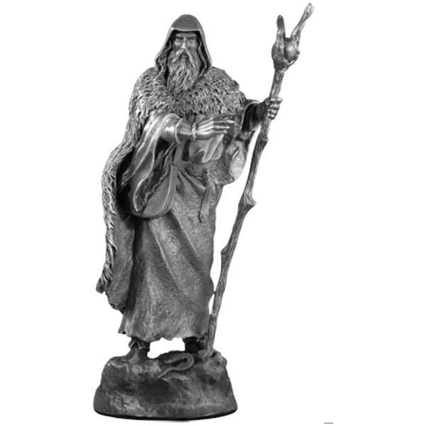Video Figurines etains Piece echiquier Fou merlin -CE003