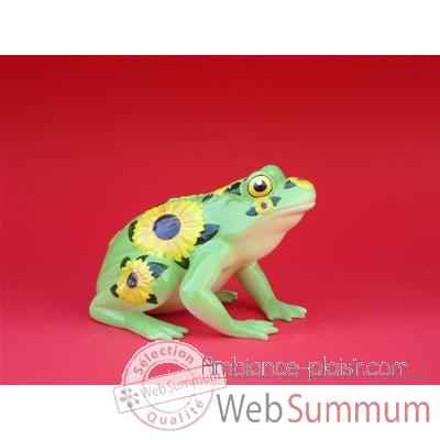 Figurine Grenouille - Fanciful Frogs - Sunflower - 11905