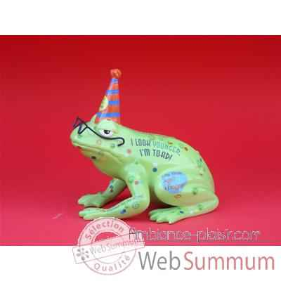 Figurine Grenouille - Fanciful Frogs - Old Croaker - 11908