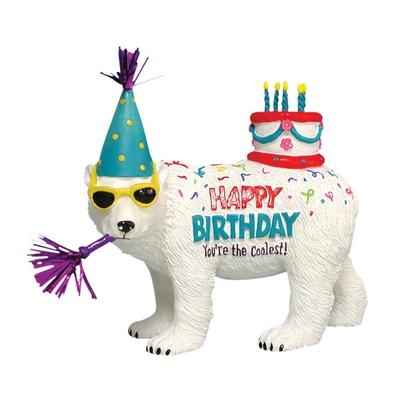Figurine Ours polaire Anniversaire -HB16927