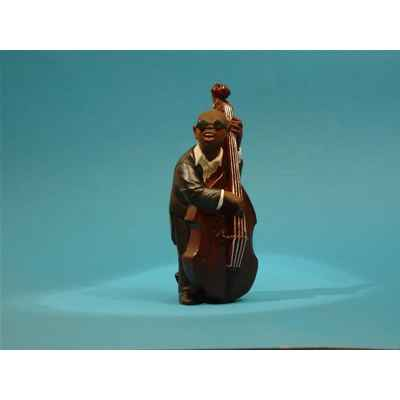 Video Figurine Jazz  La contrebasse - 3303