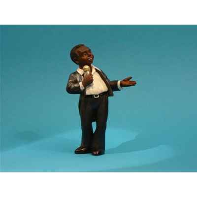 Figurine Jazz  Le chanteur - 3313