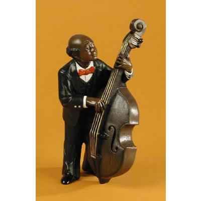 Video Figurine Jazz  La contrebasse - 3173