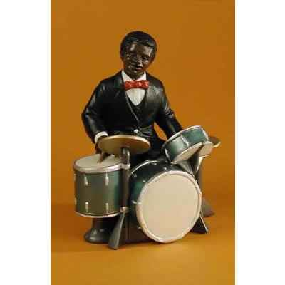Figurine Jazz  Le batteur - 3179