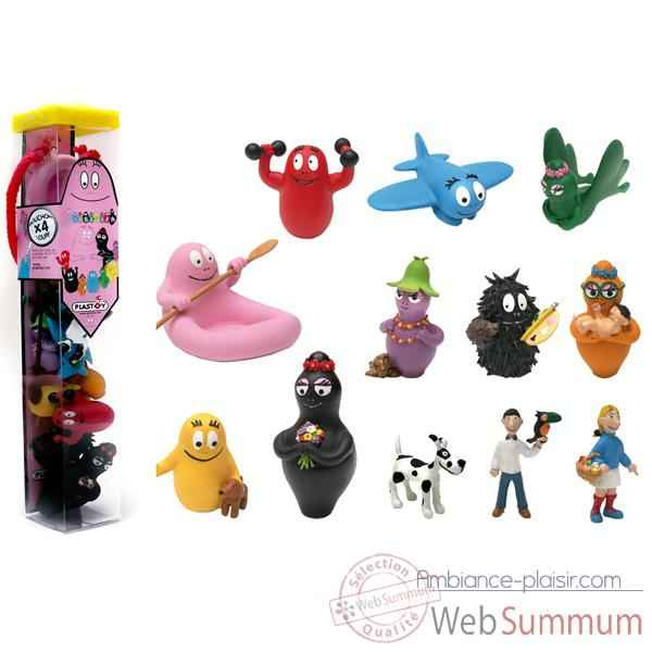 Figurine tubo Barbapapa 12 Figurines -70360