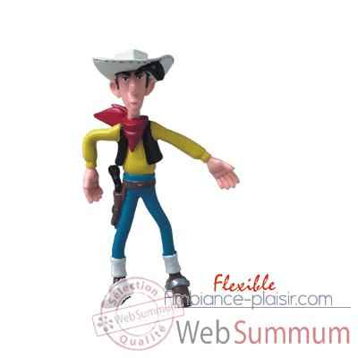 Figurine Lucky Luke flexible -63117