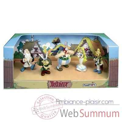 Figurine Plastoy Coffret Asterix n°4 - 5 figurines - 60852