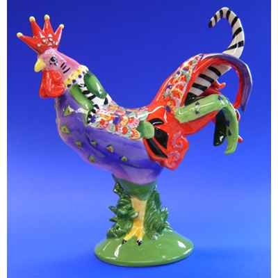 Figurine Coq - Poultry in Motion - A La King - PM16205