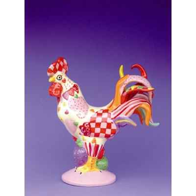 Figurine Coq - Poultry in Motion - Chicken Hearted Poultry - PM16241