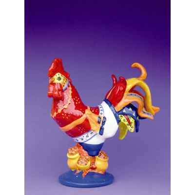Figurine Coq - Poultry in Motion - Chicken Curry - PM16242