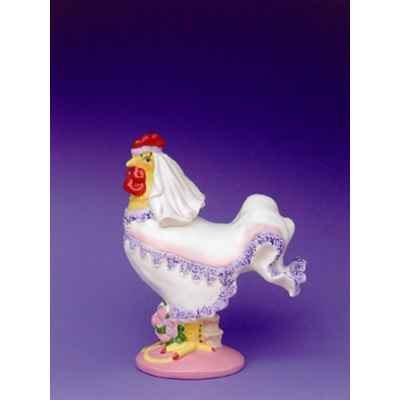 Video Figurine Coq - Poultry in Motion - Cock A Doodle Bride - PM16244