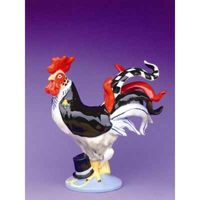 Figurine Coq - Poultry in Motion - Cock A Doodle Groom - PM16245