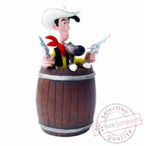 Figurine tirelire Lucky Luke-80020