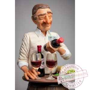 Figurine Forchino L\'amateur de vin -FO85547