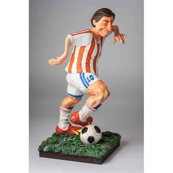 Figurine le joueur de football grand Forchino -FO85542
