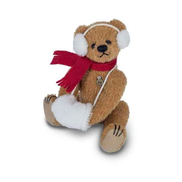 Peluche Ours teddy bear carlotta 16 cm hermann teddy original -15100 5