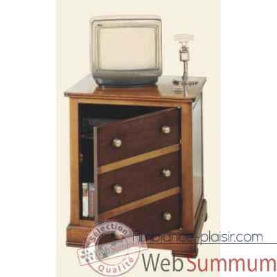 Commode Marrine, epoque 19eme, 63 x 74 x 48 cm - MA-300