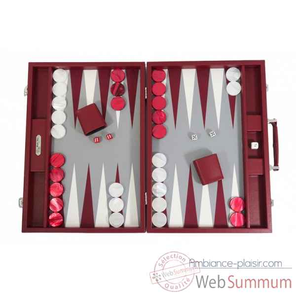 Backgammon basile toile buffle competition morgon -B620-m