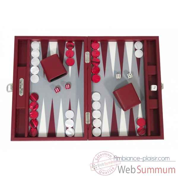 Backgammon basile toile buffle medium morgon -B20L-m