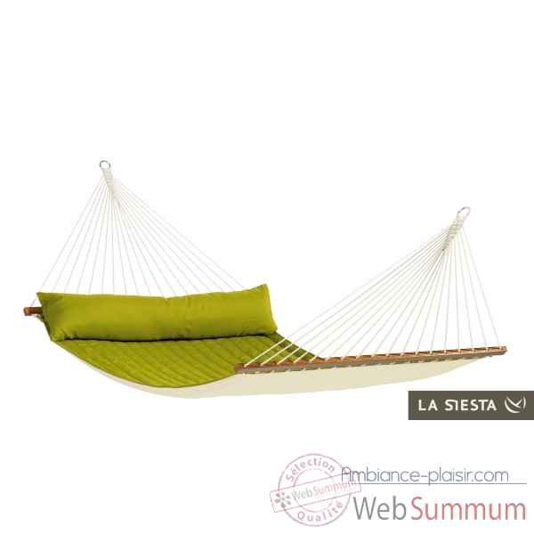 North american style hamac a barres double alabama avocado La Siesta -NQR14-41