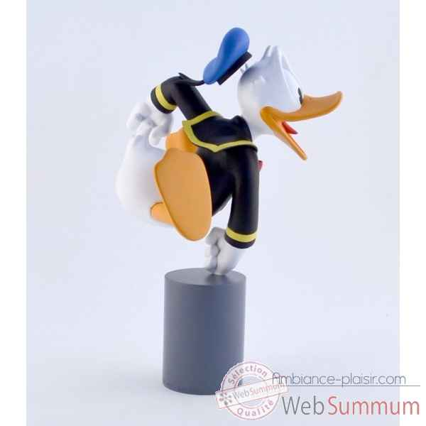 Figurine donald excite orange Leblon-Delienne -DISST03101OR