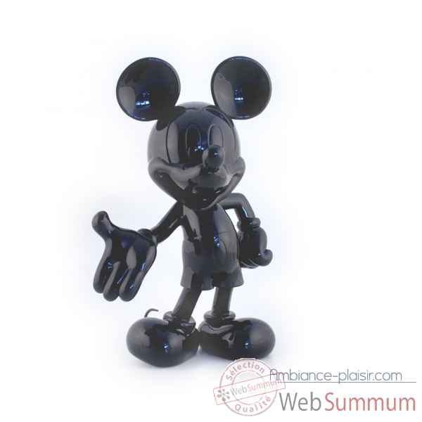 Figurine mickey welcome noir Leblon-Delienne -DISST03001NO