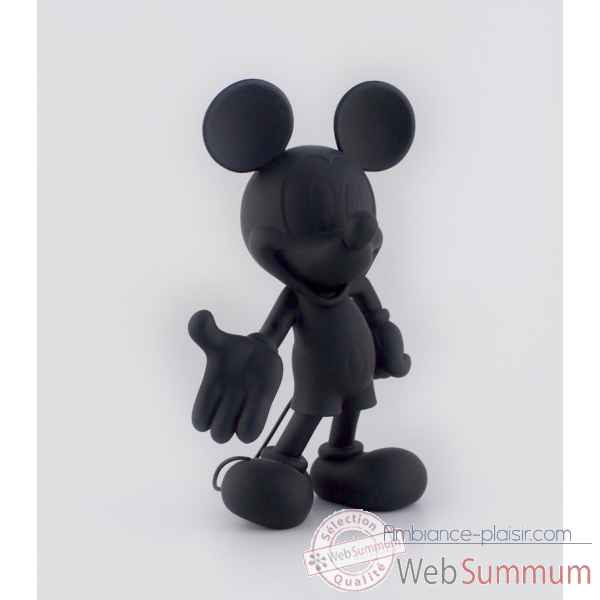 Figurine mickey welcome soft touch noir Leblon-Delienne -DISST03001SONO