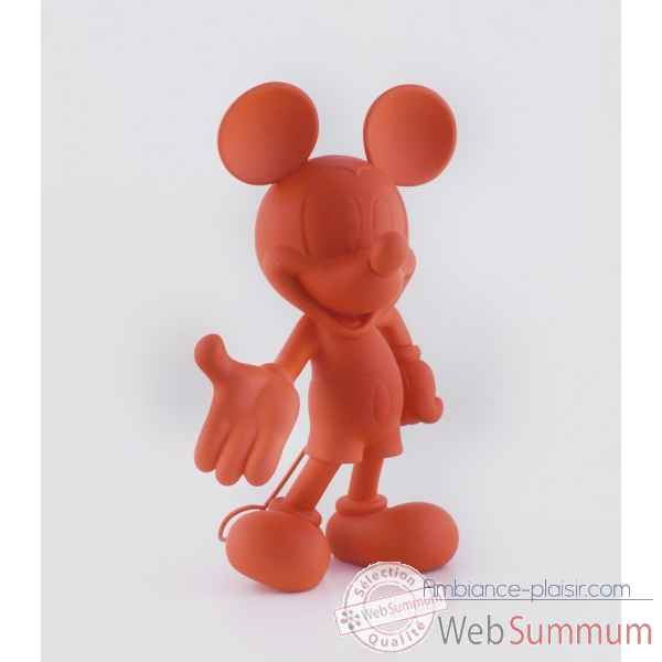 Figurine mickey welcome soft touch rouge Leblon-Delienne -DISST03001SORO