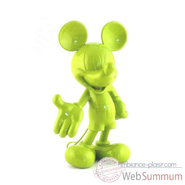 Figurine mickey welcome vert Leblon-Delienne -DISST03001VE