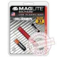 Mag led solitaire led rouge blister -SJ3A036U