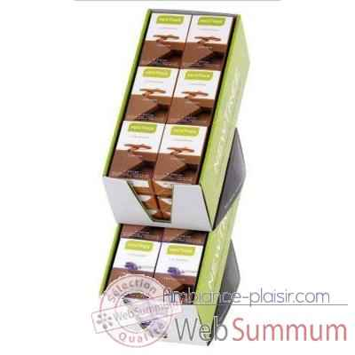 18 Minibox de 3 Mini-Tablettes Newtree Lait Lavande Tranquility  -P20AB090509