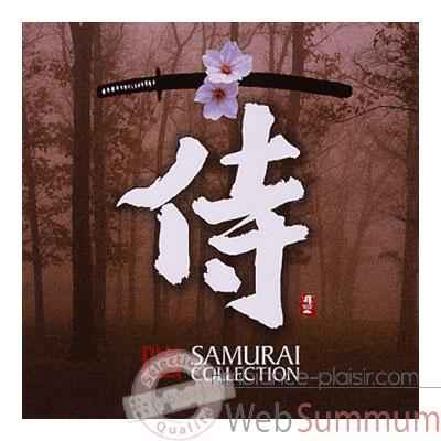 CD musique asiatique, Samurai Collection - PMR049