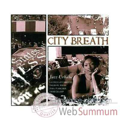 CD musique Terrahumana City Breath Jazz Urbain -1161
