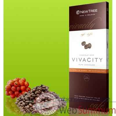 Newtree-Chocolat Noir Vivacity Cafe , tablette 80g-340128