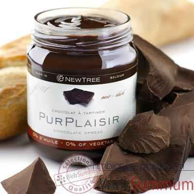 Newtree-Chocolat a tartiner Pur Plaisir, pot de 250 g - 341057